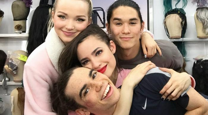 Descendants 3 Cast Wrap Photo