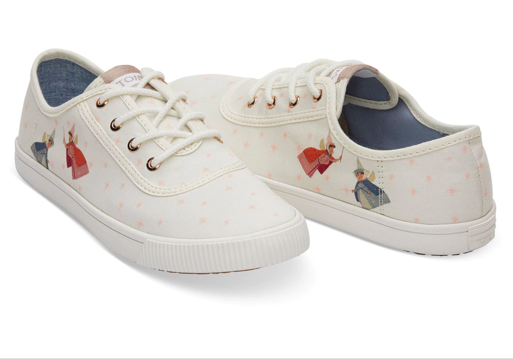 Sleeping Beauty Fairy Godmother Lace-Up Sneakers