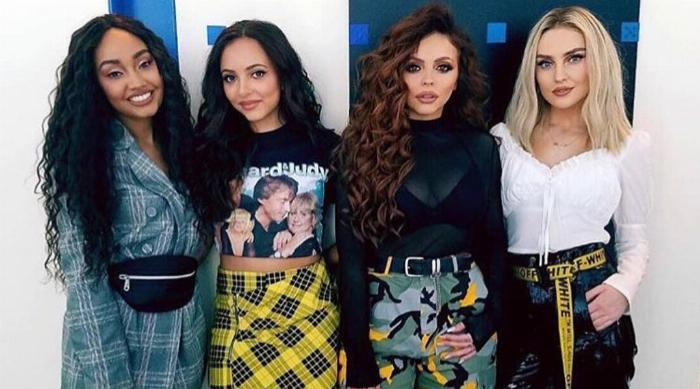 Little Mix in April 2018