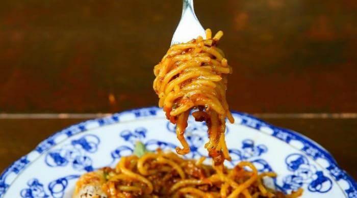 Spaghetti Twirl Pasta