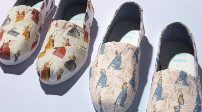 Disney x TOMS Sleeping Beauty Collection