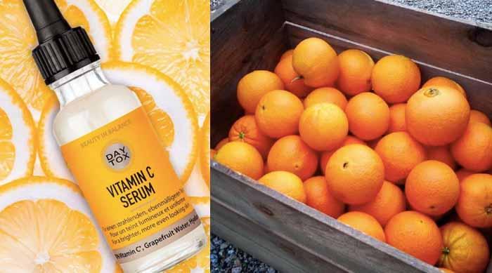 Vitamin C Serum Oranges and Lemons
