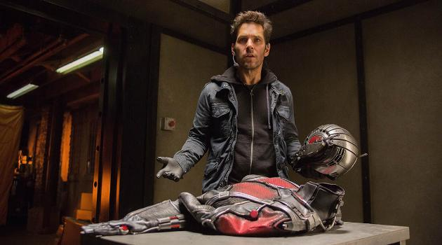 Ant-Man: Scott Lang finds his costume