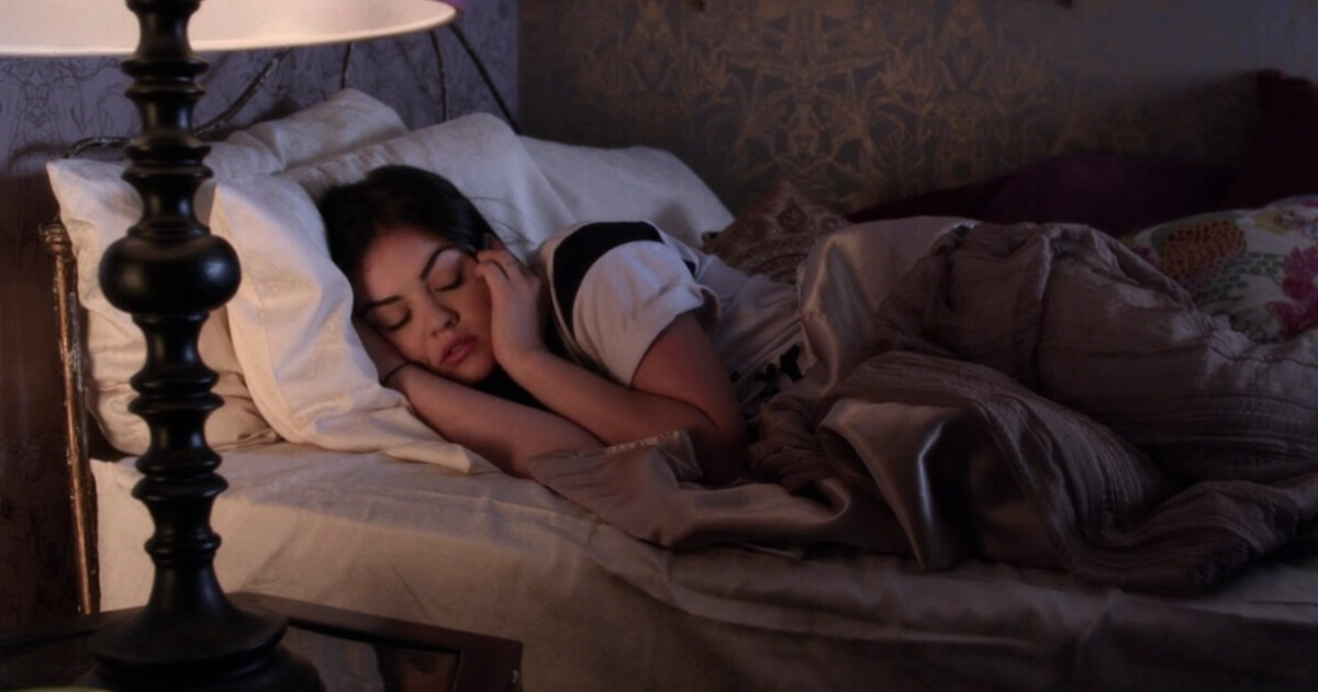 Aria Sleeping