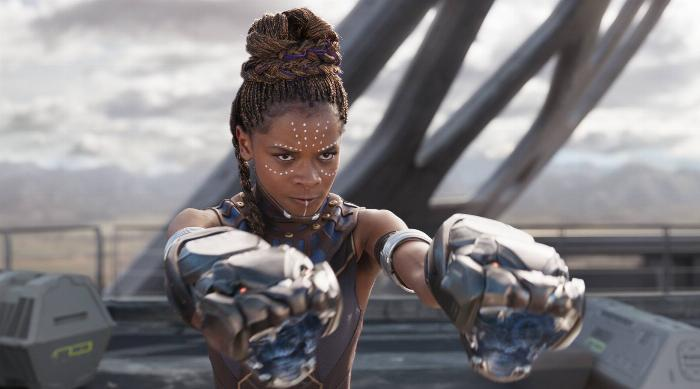Letitia Wright as Shuri in Black Panther