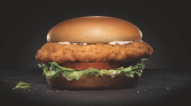 Carl's Jr the Big Chicken Fillet Sandwich