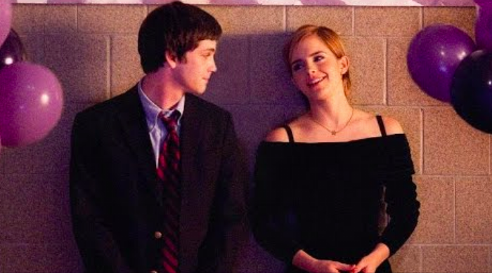 Perks of Being a Wallflower: Charlie and Sam at the dance