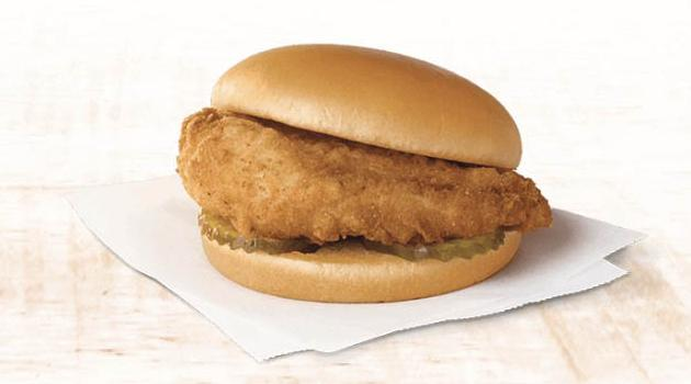 Chick-fil-A chicken sandwich