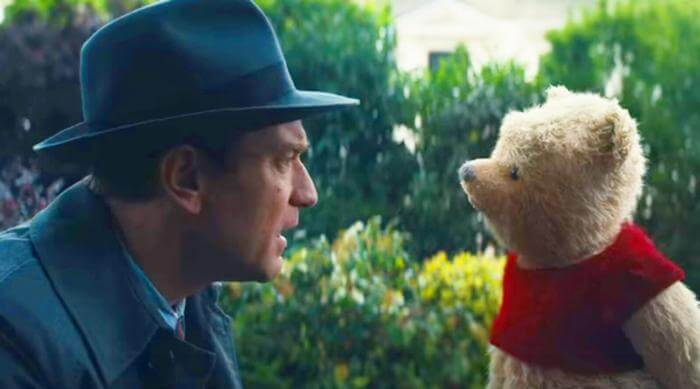 Christopher Robin: Christopher Robin talks to Winnie the Pooh