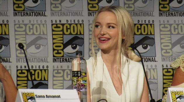 Comic-Con: Marvel Rising - Dove Cameron grins discussing Spider-Gwen