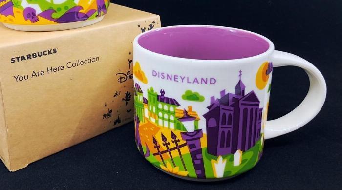 Disneyland Haunted Mansion Starbucks mug