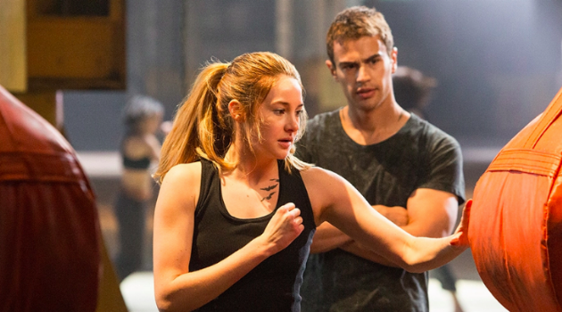 Divergent: Trix training while Four watches