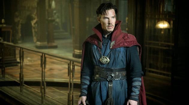 Doctor Strange: Stephen Strange in sorcerer gear