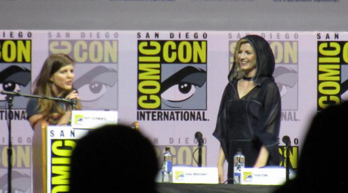 Comic-Con 2018: Jodie Whittaker arrives at Doctor Who panel