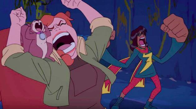 Marvel Rising: Initiation - Squirrel Girl, Tippy-Toe and Ms. Marvel