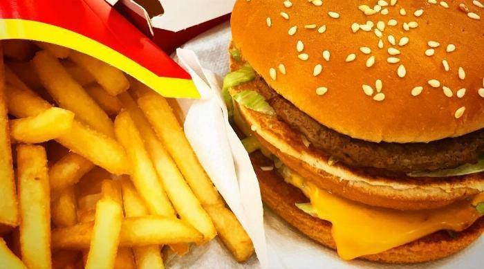 Instagram: McDonald's Big Mac and Fries