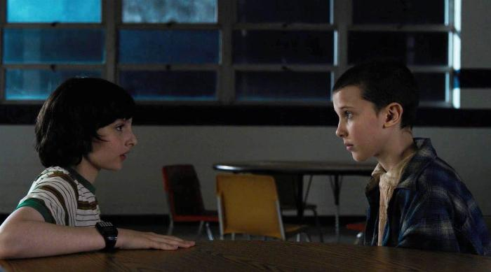 Stranger Things - Mike Wheeler and Eleven