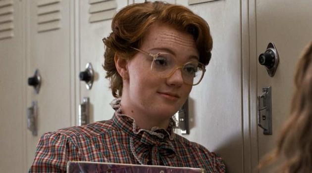 Shannon Purser as Barb in Stranger Things