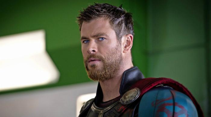 Thor: Ragnarok - Thor with short hair