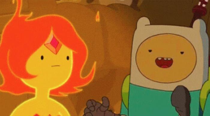 Adventure Time: Flame Princess and Finn