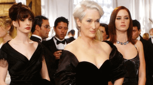 The Devil Wears Prada: Anna Hathaway and Meryl Streep