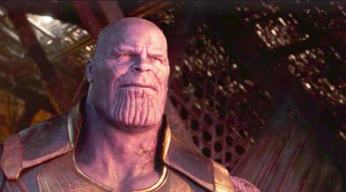 Avengers: Infinity War - Thanos watches the sun rise in peace