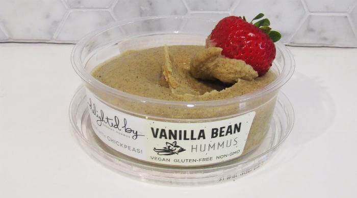 Delighted by Hummus Vanilla Bean flavor