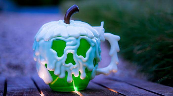 Disney Parks' Green Poision Apple Stein