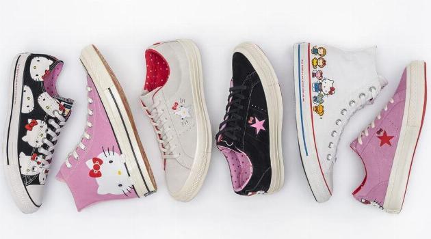 Hello Kitty x Converse collection