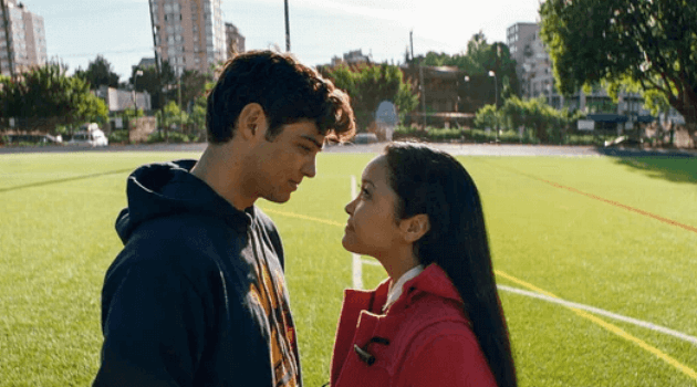 To All the Boys I've Loved Before: Peter and Lara Jean ending scene