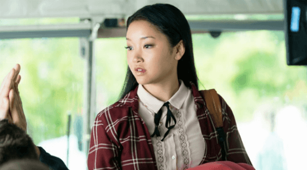 To All the Boys I've Loved Before: Lara Jean on a bus
