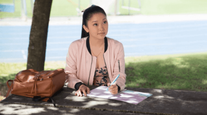 To All the Boys I've Loved Before: Lara Jean writing a letter