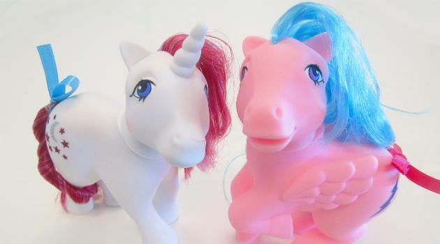 My Little Pony 35th Anniversary Edition unicorn and pegasus collection