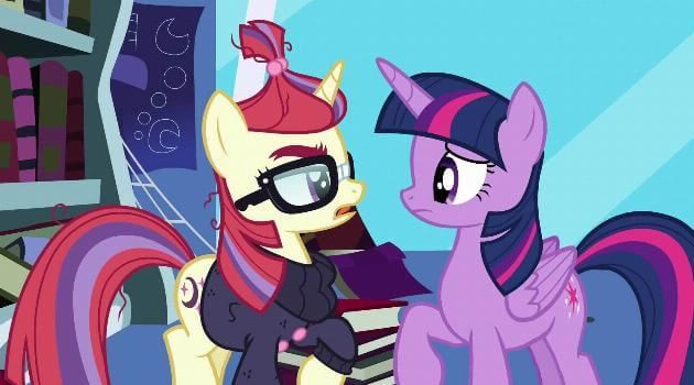 My Little Pony: Friendship is Magic: Moondancer talks to Twilight Sparkle