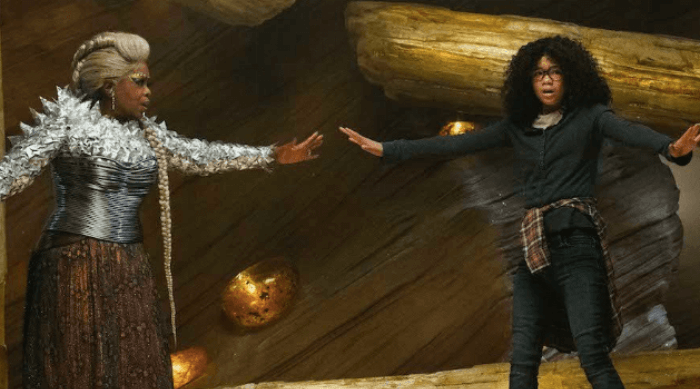 A Wrinkle in Time: Oprah and Meg together
