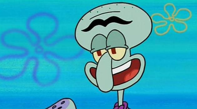 SpongeBob SquarePants: Squilliam Fancyson, Squidward's rival