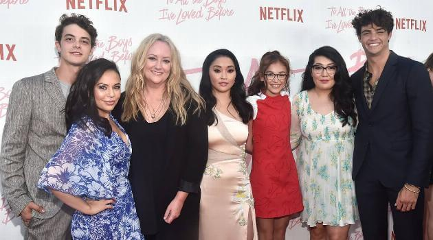 to all the boys i loved before cast