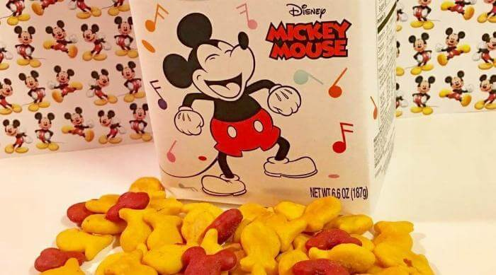 Mickey Mouse Goldfish Crackers