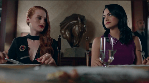 Riverdale: Cheryl and Veronica at dinner