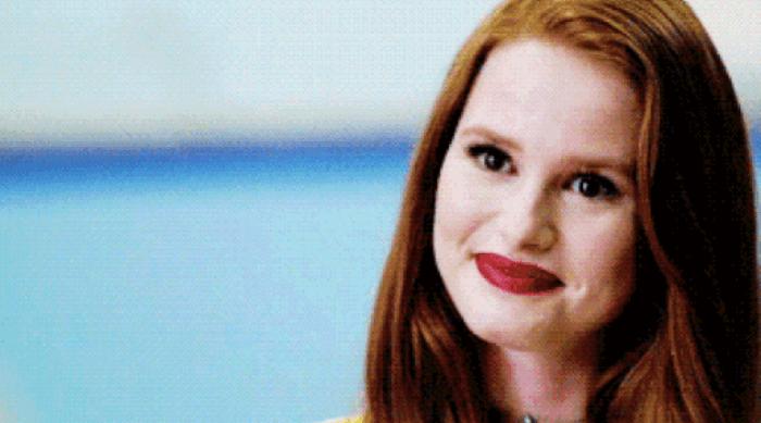 Riverdale: Cheryl smiling