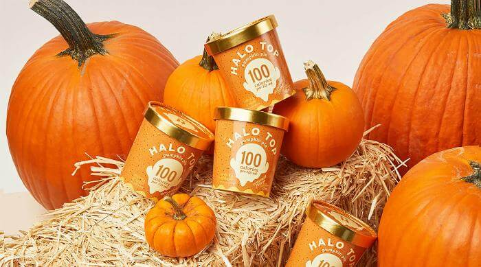 Halo Top Creamery Pumpkin Pie ice cream