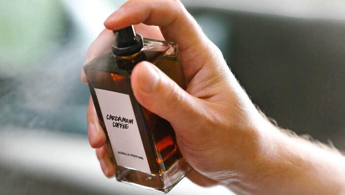 Lush's Cardamom Coffee fragrance