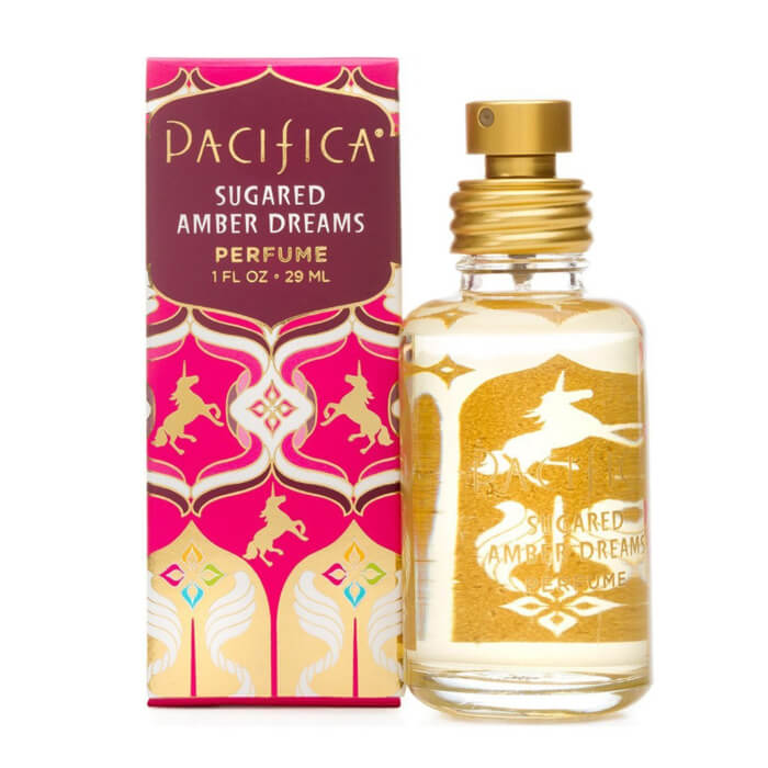Pacifica Beauty's Sugared Amber Dreams fragrance