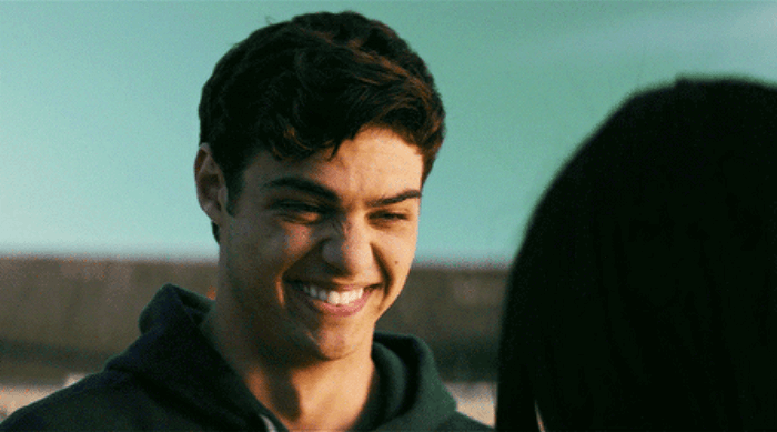 peter kavinsky smiling