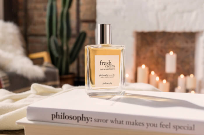 Philosophy's Fresh Cream Warm Cashmere fall fragrance
