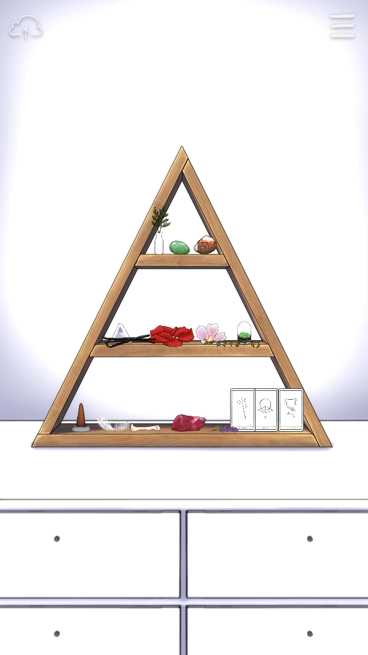 #SelfCare: Altar with objects