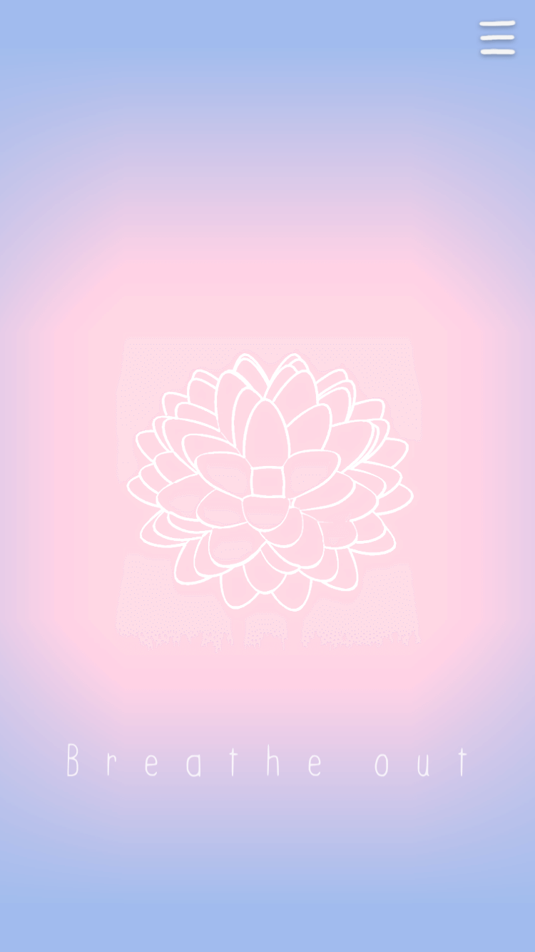#SelfCare: Breathing in and out with a flower