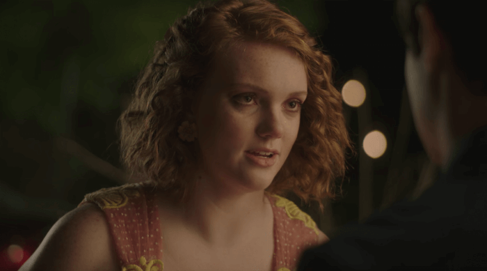 Sierra Burgess is a Loser: Sierra (Shannon Purser) and Jamey (Noah Centineo) talking