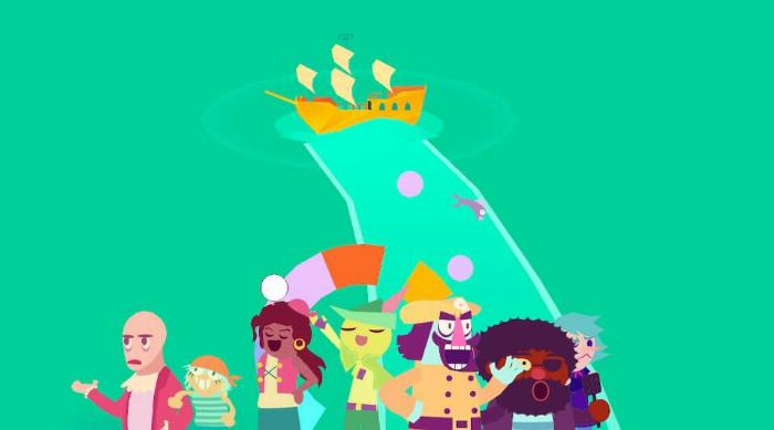 Wandersong: Steering a pirate ship