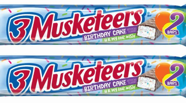 3 Musketeers Birthday Cake Is A Chocolate Wish Come True